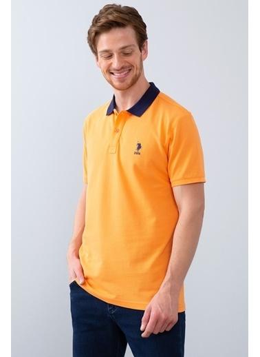 U.S. Polo Assn. Tişört Oranj